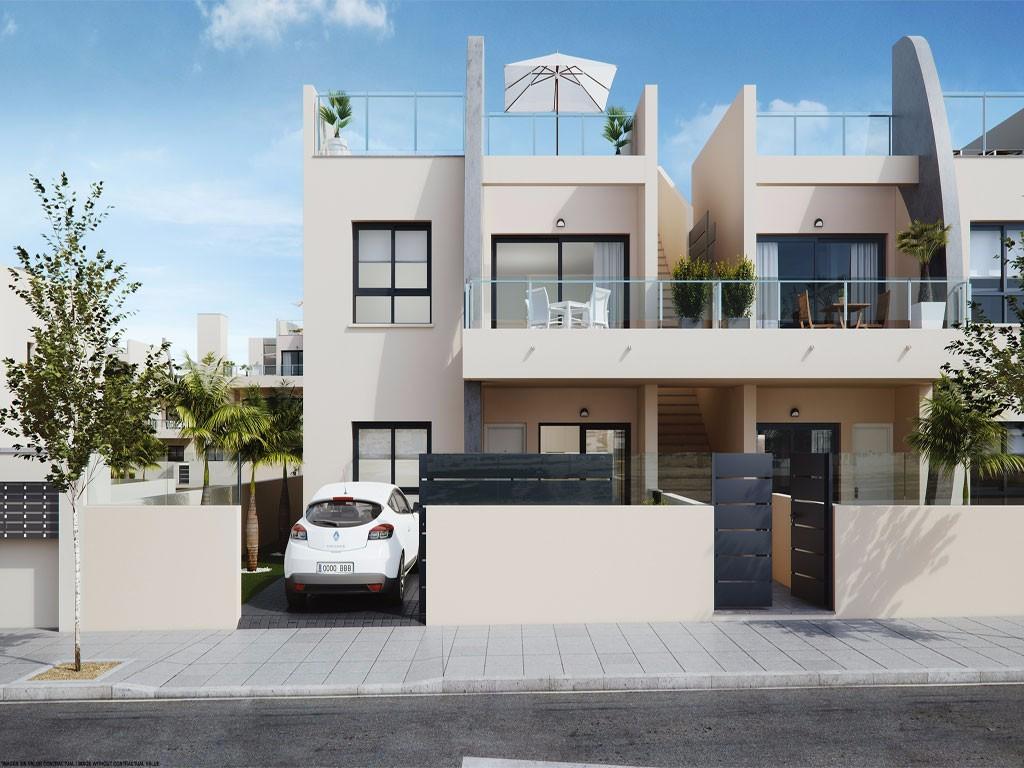 New Build Bungalow Apartment Pilar De La Horadada Mil Palmeras